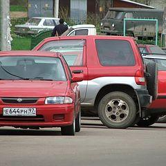 "photo ""three red auto"""
