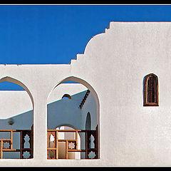 """photo """"White architecture # 2"""""""
