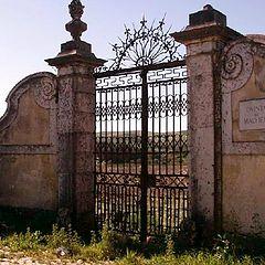 "photo ""Old farm entry"""