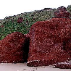 "photo ""strange rock in the beach"""