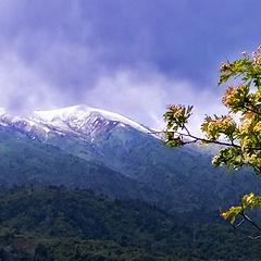 """фото """"Переменчивая погода в горах"""""""