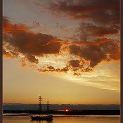 """photo """"Quiet sundown picture"""""""