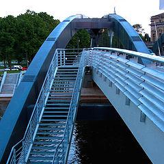 """photo """"The bridge of king Mindaugas, Vilnius"""""""