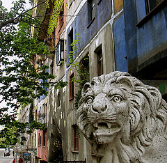 "photo ""The Viennese Lion."""