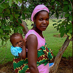 """фото """"African mother"""""""