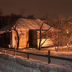 """фотоальбом """"Зимний пейзаж. Ночь."""""""