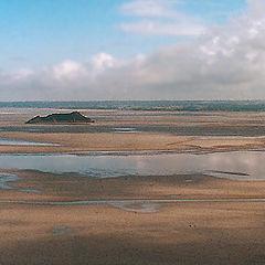 """фото """"В Нормандии. Отлив на Ла-Манше"""""""
