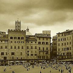 """фото """"В Сиене, перед дождем"""""""