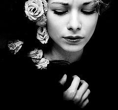 "photo ""dark ophelia"""