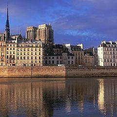 """фото """"Le quai aux Fleurs - Paris 4e."""""""