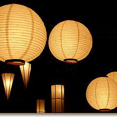"""photo """"Luminarias japonesas..."""""""