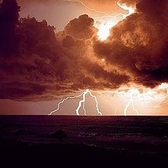 "фото ""The thunderstorm"""