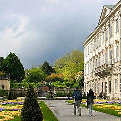 """photo """"Salzburg. Park"""""""