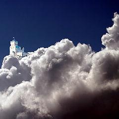 """photo """"Sky castle"""""""
