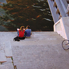 "photo ""Two at the Seine"""