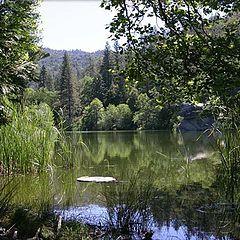 "photo """" Mystic Lake """""