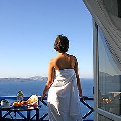 "фото ""Утро Санторини..."""