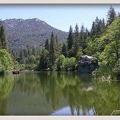 "photo """"Return to Mystic Lake ""."""