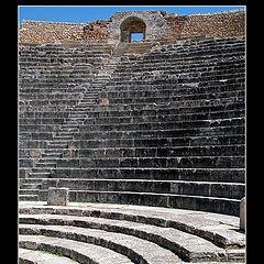 """photo """"The Amphitheatre. Tunisia"""""""