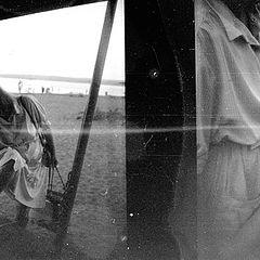 """photo """"Leaving a beach"""""""