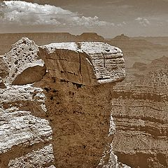 "фото ""Величие скал - Гранд Каньон"""