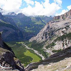 "фото ""Kandersteg.Швейцарские Альпы.1956 м."""