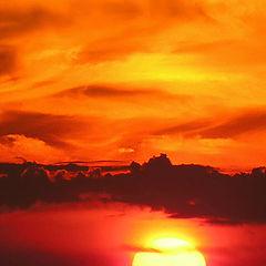 "фото ""Urban sunset."""