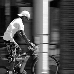 "photo ""Through the city"""