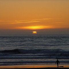 "photo ""Sunset in San Francisco"""