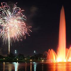 "photo ""The firework"""