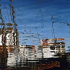 """фото """"Reflected Boat"""""""