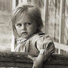 "photo ""Serious girl"""