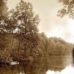 """фото """"старый мир: озеро"""""""