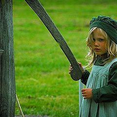 "фото ""girl in green"""