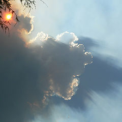 "photo ""Clouds and smoke"""