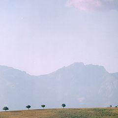 """photo """"Landscape with a cloud."""""""