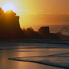 "photo ""Sunset seascape"""