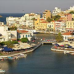 "фото ""Agios-Nikolaos, Crete, Greece."""