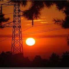 "фото ""Закат электроэнергетики"""