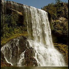 "photo ""Independencia water falls, Parana, Brazil"""