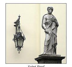 "photo ""Saint Paul's statue near Stt.Peter&Paul's church"""