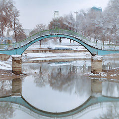 "photo ""a severely Shopped bridge"""