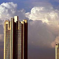 """фото """"Две башни"""""""