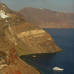 "фото ""Cliffs of Santorini"""