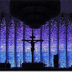 "photo ""Blue Prayer"""