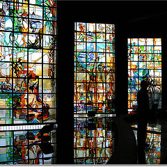 """photo """"Stained Glass Saloon"""""""