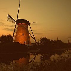 "photo ""Good evening Кinderdijk"""