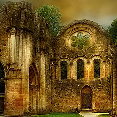 "photo ""Abbey of Orval (ruin)"""