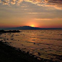 "photo ""Greek sunset"""