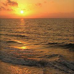 "фото ""Greek sunset..."""